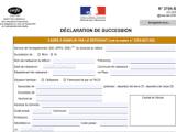 Quels sont les délais de déclaration de succession ?