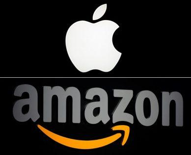 APPLE : A eux deux, Apple et Amazon valent plus que le CAC 40