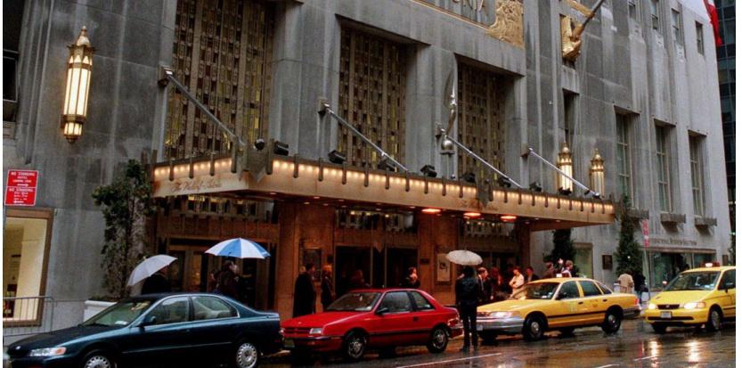 L'hôtel Waldorf-Astoria, joyau du groupe Hilton, à New York (c) Sipa / Stephen Chernin