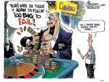 Le ralentissement économique mondial contraint Goldman Sachs à des économies