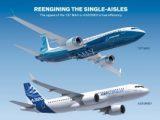 Nouvelle version du Boeing 737 à l'étude, pour concurrencer l'Airbus A320